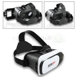Virtual Reality VR Headset 3D Glasses for Android IOS LG App