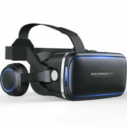 3D VR Glasses Virtual Reality Headset For Samsung Galaxy Not