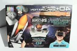 4D+ Space Exploration VR Headset & Augmented Reality Cards -