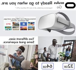 Oculus Go Standalone All-In-One VR Headset Virtual Reality W