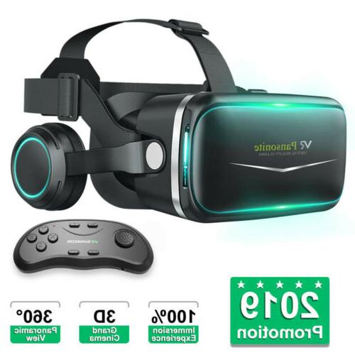 Virtual Reality Headset Gaming PC VR For Android