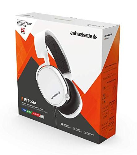 SteelSeries Arctis 3 Gaming for PC, PlayStation One, Nintendo and