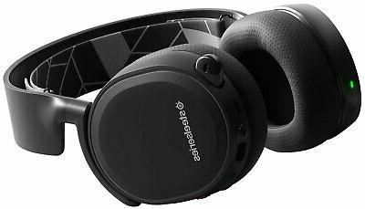 Wireless Gaming Headphone Android iOS VR Black