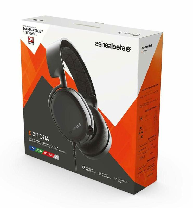 Gaming Headset for PC PlayStation 4 Xbox One Nintendo