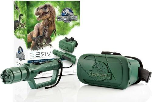 jurassic park virtual reality vr headset justice