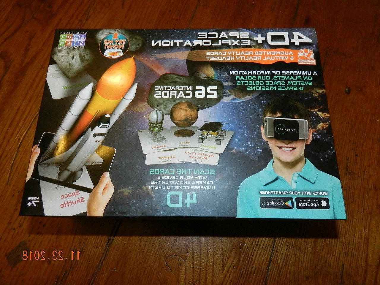 new 4d space exploration augmented reality cards