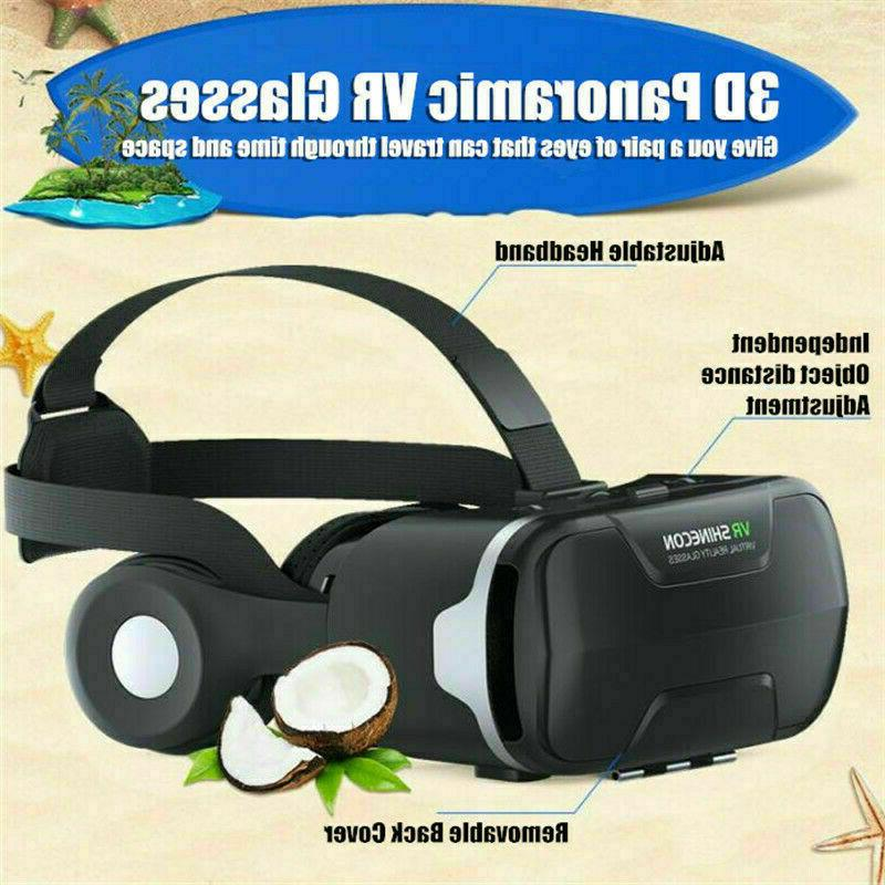 Virtual Reality Headset Box 3D For Android iPhone Samsung