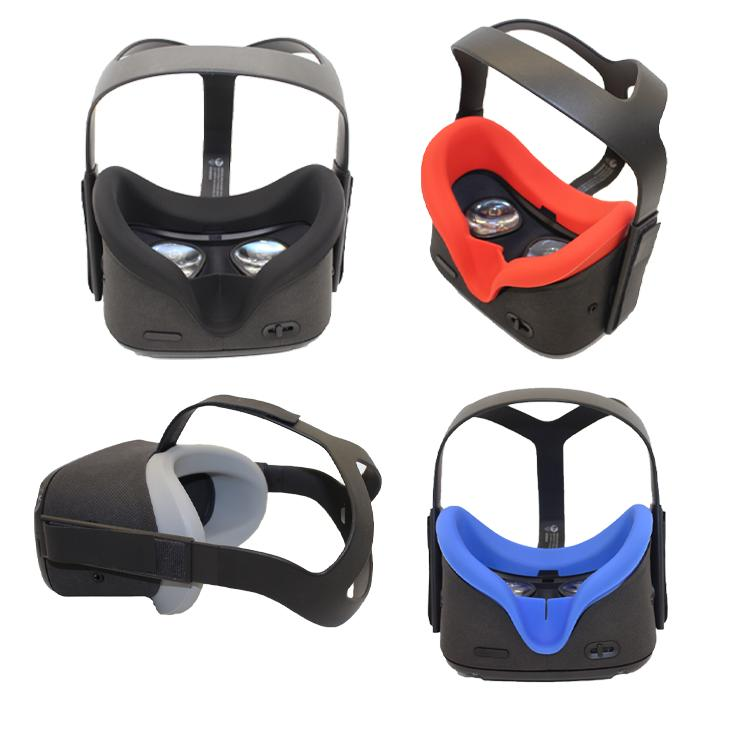 VR Silicone Face Cover & Lens Oculus