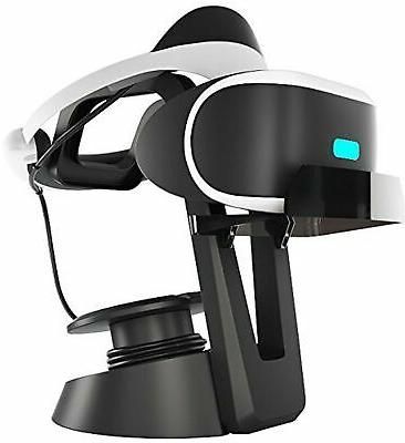 vr stand headset display stand and cable