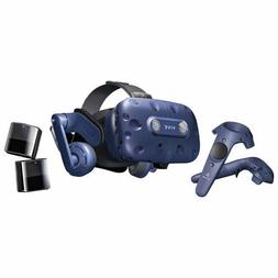HTC VIVE Pro VR Headset Full Kit with Sensors and Controller